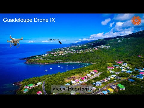 HD Drone Video | Vieux-Habitants, Guadeloupe