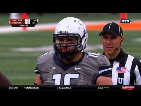 College Football - Wisconsin at Illinois on 10 24 2015