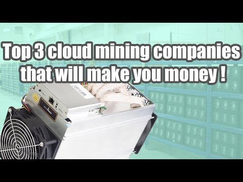 TOP 3 CLOUD MINING COMPANIES | CLOUD MINE BITCOIN