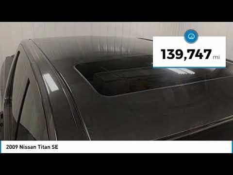 2009 Nissan Titan Hudson WI 8T1290A