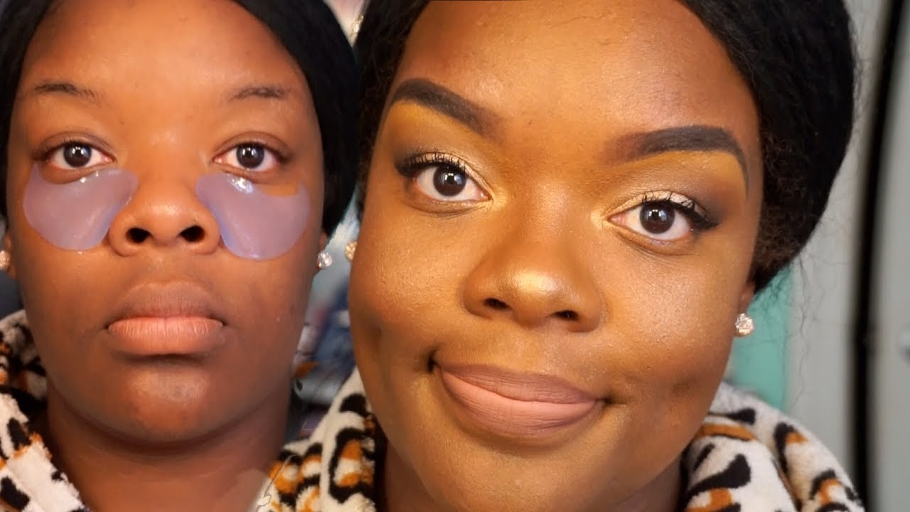 Quick Everyday Makeup   New Products Try Out #WOC