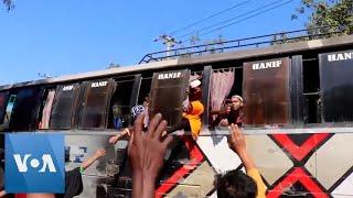 Bangladesh Authorities Relocate Rohingya Refugees