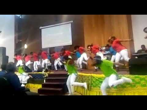 First love church S.A dancing stars- Eben joyful noise