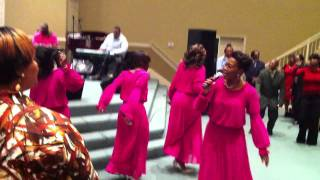 "Anointed Brown Sisters "" He Worked It Out"""