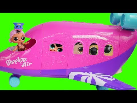 LOL Surprise Dolls Air Plane + Christmas Custom Bedroom with Hair Goals Blind Bags