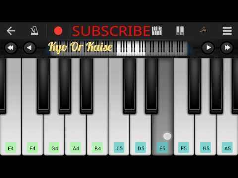 Soch Na Sake Airlift Full Song Piano Notes Arijit Singh - By Dev