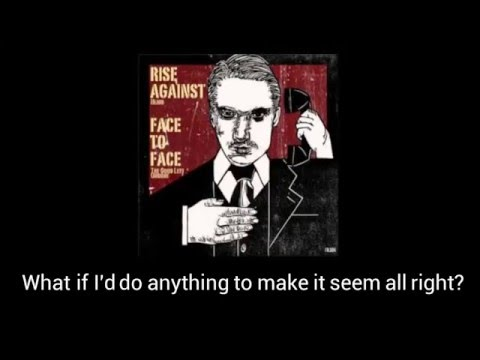 Rise Against- Blind (Lyrics)