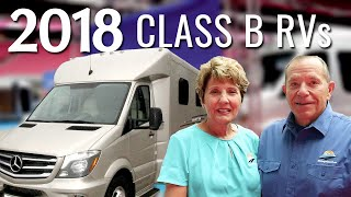 The Latest in Class B-Plus RV's: New Leisure Travel and Pleasure-Way Models