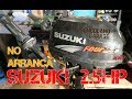 Fueraborda Suzuki 2.5hp  que no quiere arancar !! [Limpiamos Carburador] @ Songoland Garage