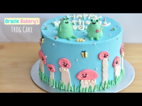 Oracle Bakery's Frog cake: I recreated the trendy frog cake!