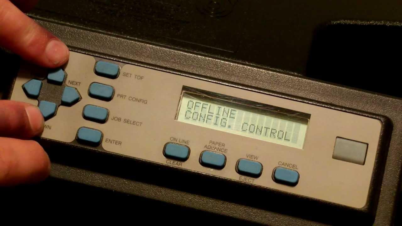 Printronix P5000-H PSA3 Hangul Driver for Windows 7