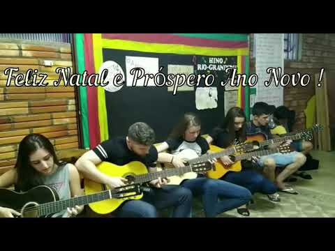 Jingles bells solo violão turma Ibiraiaras 2019