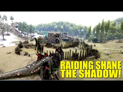 Raiding Shane The Shadow! (Raiders/Pvp Tribe Life) - Ark: Survival Evolved -Ep.22
