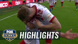 Hamburger SV vs. SC Freiburg | 2017-18 Bundesliga Highlights