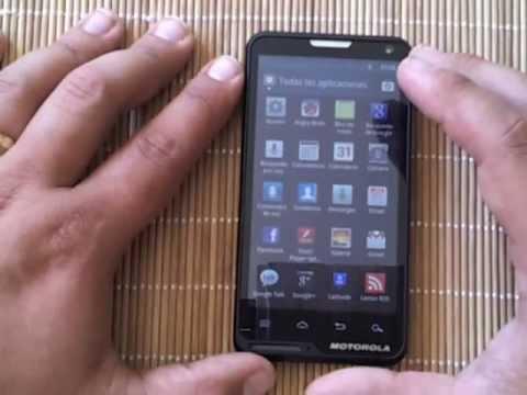 Videoreview Motorola Motoluxe (El Androide Libre)