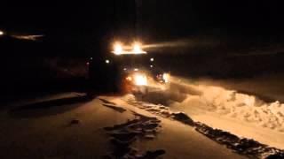 FJ Cruiser зимняя дорога в бору
