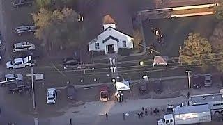 Breaking Texas Governor update Texas church massacre not a random act  November 2017 News