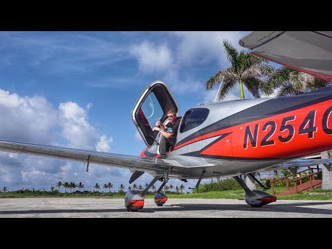 CROSSING THE LINE! - Bahamas to the USA in a NEW Cirrus SR22T