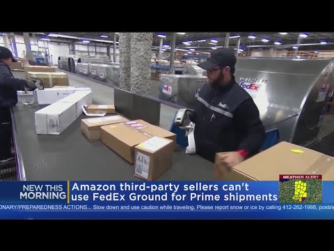 Amazon 3rd Party Sellers Can't Use FedEx Ground For Prime Shipments