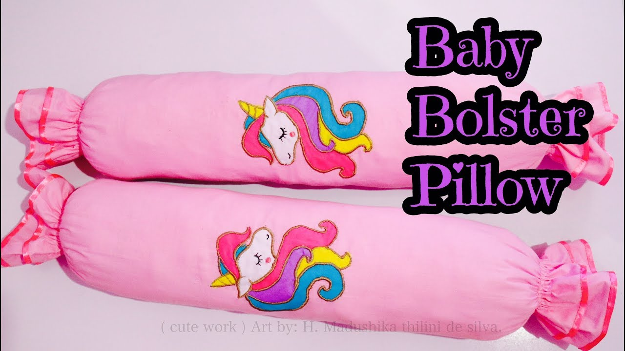 how to make baby bolster pillow filler pillow cover pillow 03 part