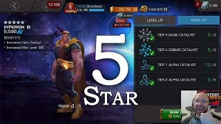 5-Star Hyperion Rank 5 + ROL Speedrun | Marvel Contest of Champions