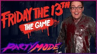 Greg Tries to Kill Everyone in Friday the 13th The Game! - Party Mode