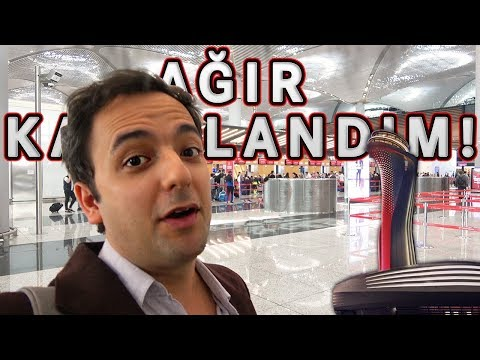 Ağır Kazıklandım! - İstanbul Yeni Havalimanı VLOG#1