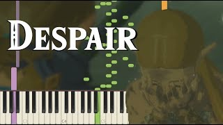 Gambar cover Despair - Breath of the Wild (Memory #16) (Clean Version) [Synthesia Piano Tutorial]