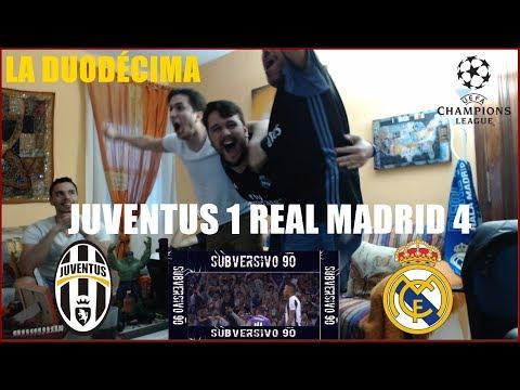JUVENTUS 1 REAL MADRID 4 | REACCIONES | UEFA CHAMPIONS LEAGUE FINAL