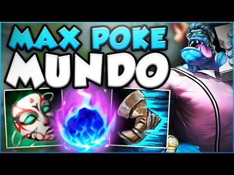 WAIT... ONE MUNDO CLEAVER DOES HOW MUCH DAMAGE?? MAX POKE MUNDO SEASON 8 GAMEPLAY! League of Legends