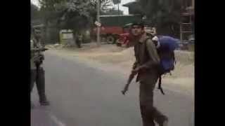 Nepalese Civil War (Maoist Attack on Krishna Vir Part I)