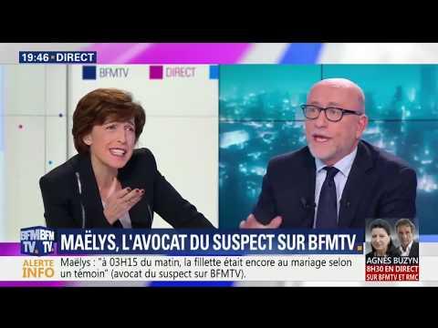 ALAIN JACUBOWICZ se défend et s'énerve sur BFM TV le 04/12/2017
