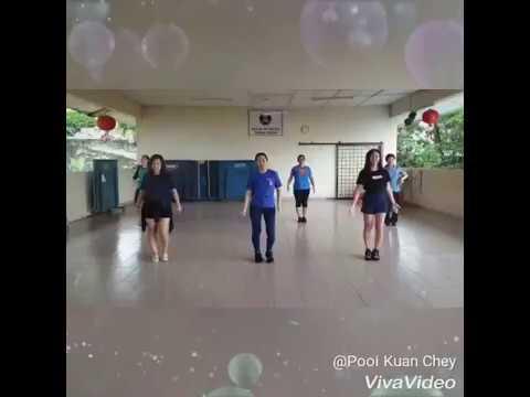 Kickick Line Dance  - Treat You Better