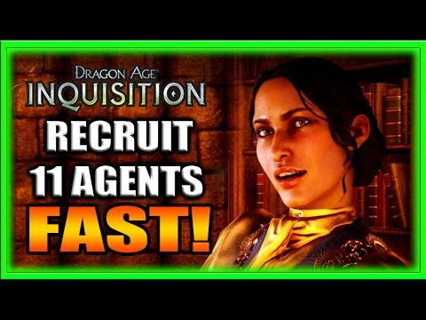Dragon Age Inquisition Guides - Get 11 Agents FAST! Tips and Tricks