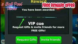 8 Ball Pool Special New Offer Get Free [ VIP Cue ] Absolutely Free 100% Work