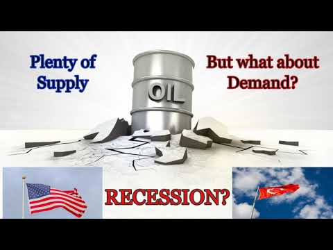 Oil Demand Down -  Recession on the Horizon?