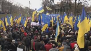 """Митинг Саакашвили  Ощущение нового Майдана  Киев 27 ноября 2016(Мітінг """"Остання зима цієї Ради""""., 2016-11-27T15:50:39.000Z)"""