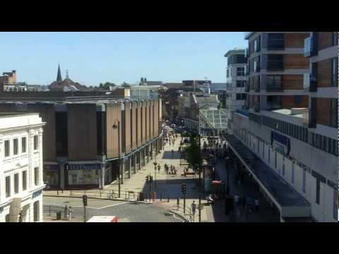 An Aerial Tour Of Uxbridge Town, Hillingdon UK HD