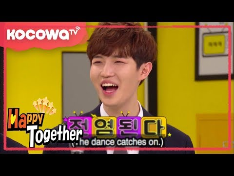 [Happy Together] WANNA ONE's dance battle!