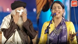 heart-touching-folk-song-by-kgf-ananya-bhat-at-sadhguru-maha-shivaratri-2020-yoyo-tv-kannada