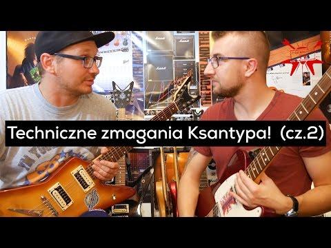 Techniczne zmagania Ksantypa z Filmików o Gitarach (cz.2) - e-gitarzystaTV
