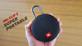 JBL Clip 3 Review & Sound Test in Hindi – This Bluetooth Speaker from JBL is extremely portable!