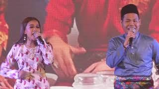 Syamel & Ernie Nyanyi LIVE Lagu Raya SERU HARI LEBARAN di Pelancaran Raya Astro SEMPURNA SEADANYA