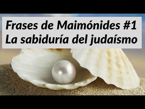 frases-de-maimónides-#1-la-sabiduría-del-judaísmo-רבי-משה-בן-מימון