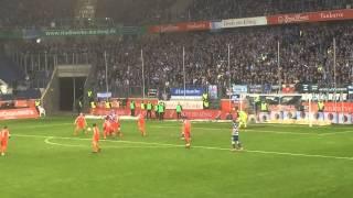 1:0 MSV DUISBURG GEGEN SV SANDHAUSEN ^^