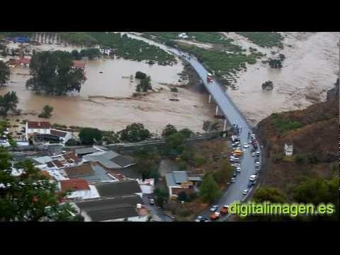 Inundaciones Álora 2012