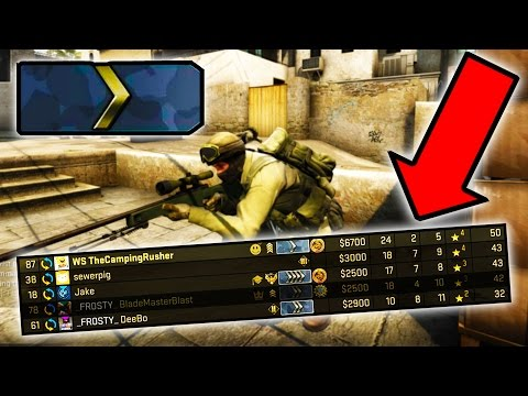 BEST SILVER 1 PLAYER IN THE WORLD!! ( CSGO Funny Moments )