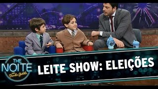 The Noite (02/10/14) - Leite Show: Eleições 2014