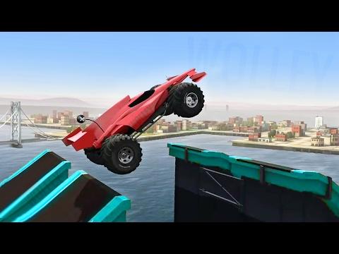 Off Road Racing - MMX Hill Climb to City Mayhem w/ The Racer Unlocked - Kids Stunt Cars Games Videos