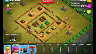 Clash of Clans Level 8 - Gold Rush